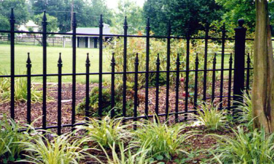 Ornamental Iron Fencing  - S & S Fence Co., Inc.